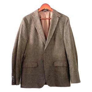Hugo Boss brown Sport coat with Leather details